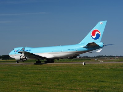 HL7605 Korean Air Lines Boeing 747-4B5F(ER) - cn 35526, taxiing 21july2013 pic-010