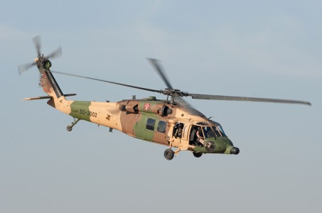 Jordanian Air Force UH-60 Black Hawk helicopter