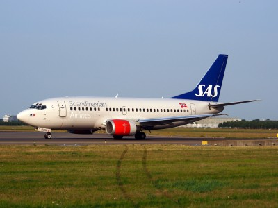 LN-BRX SAS Scandinavian Airlines Boeing 737-505 - cn 25797, taxiing 22july2013 pic-001