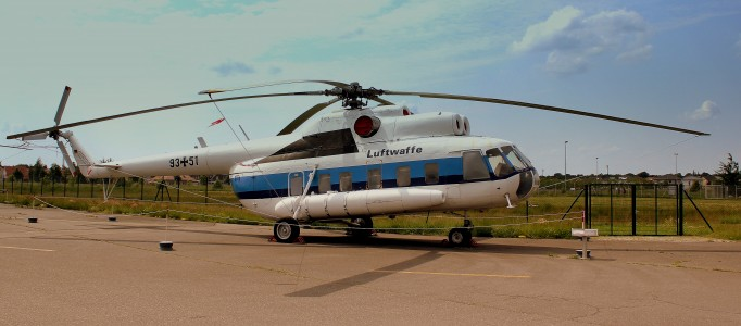 LUFTWAFFE MIL17 93+51 AT THE LUFTWAFFEN MUSEUM RAF GATOW BERLIN GERMANY JUNE 2013 (9025764834)