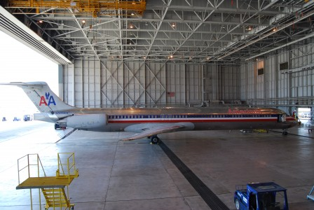 McDonnell Douglas MD-80, American Airlines, DFW maintenance, starboard profile (2734334445)