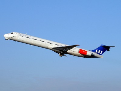 McDonnell Douglas MD-81 Scandinavian Airlines OY-KGZ