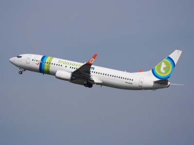 PH-GUA Transavia Boeing 737-8EH(WL) - cn 37601take-off, 25august2013 pic-2