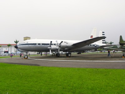 ROCAF C-118 in Military Airplanes Display Area 20111015