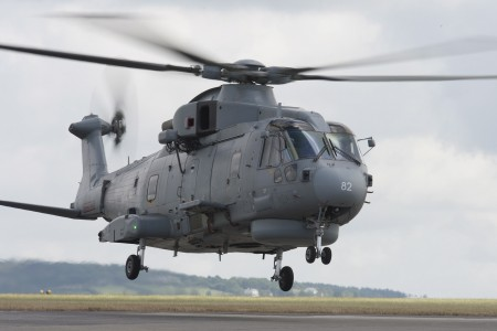 Royal Navy Merlin Mark 2 Helicopter MOD 45155785