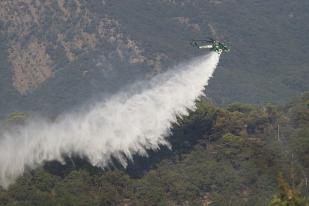 Sikorsky CFS 103 firefighting