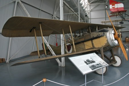 SPAD S.VII C1 unmarked (S.1420) (6384504081)