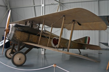 SPAD S.VII C1 unmarked (S.1420) (6384520453)