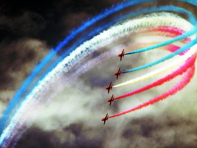 The Red Arrows at Festival of Speed, Goodwood