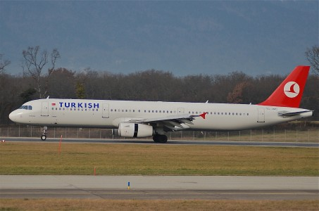 Turkish Airlines Airbus A321-231; TC-JMC@GVA;30.12.2006 445ly (7393575080)