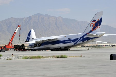 Volga-Dnepr AN-124 at Bagram