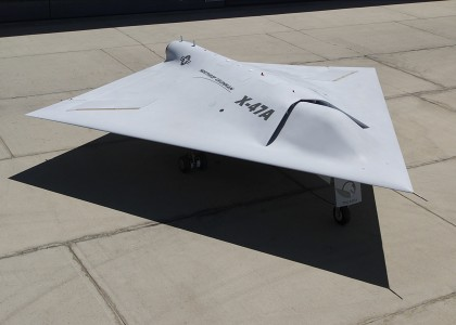 X-47A rollout