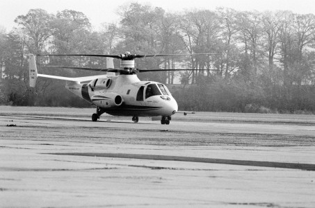 XH-59A helicopter in 1981 (2)