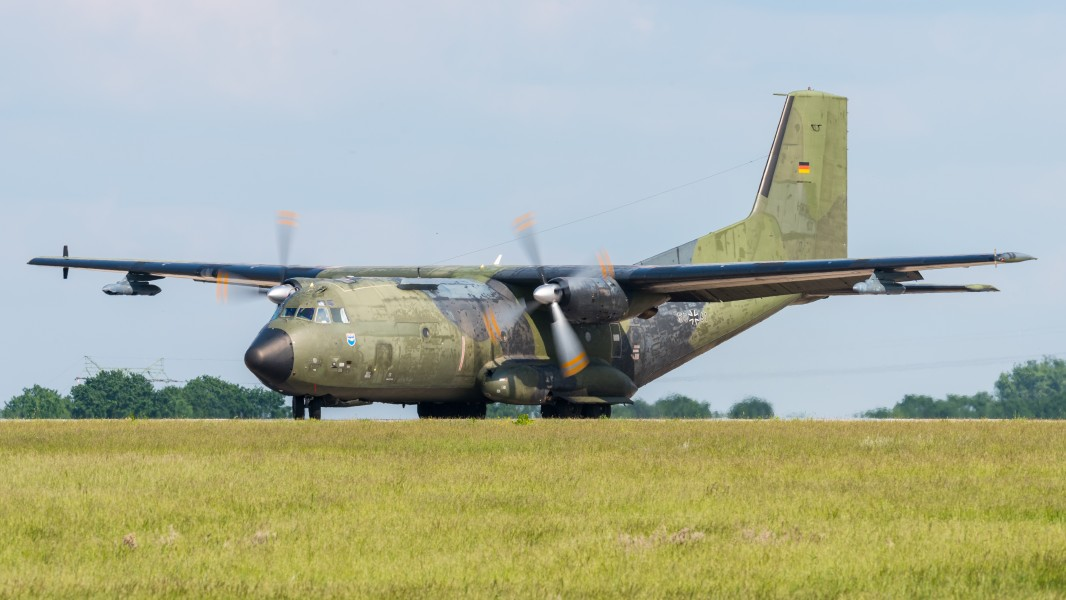 50+61 German Air Force Transall C-160D ILA Berlin 2016 13