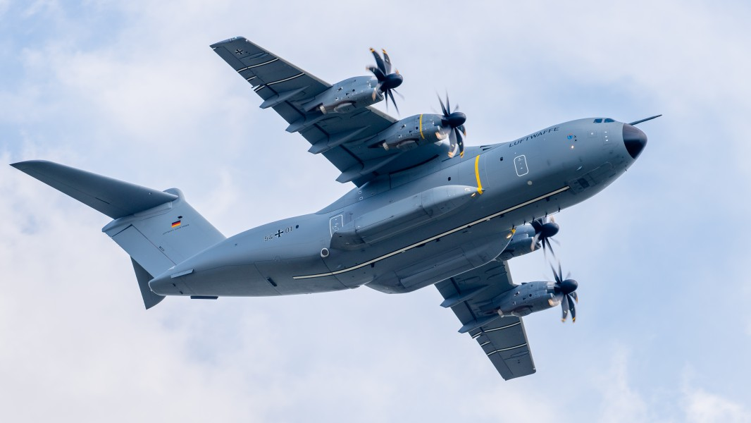 54+01 German Air Force Airbus A400M ILA Berlin 2016 27