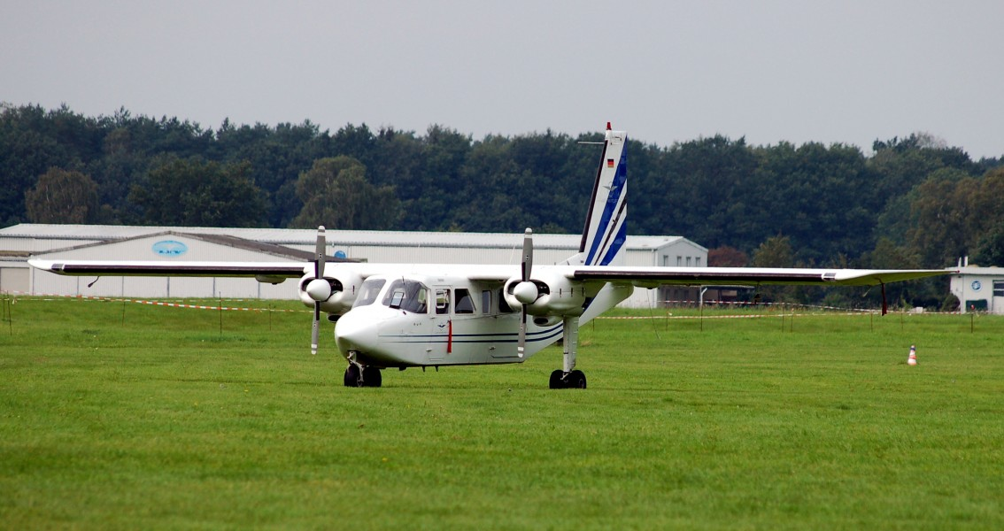 Air Hamburg Britten-Norman BN-2 Islander 01