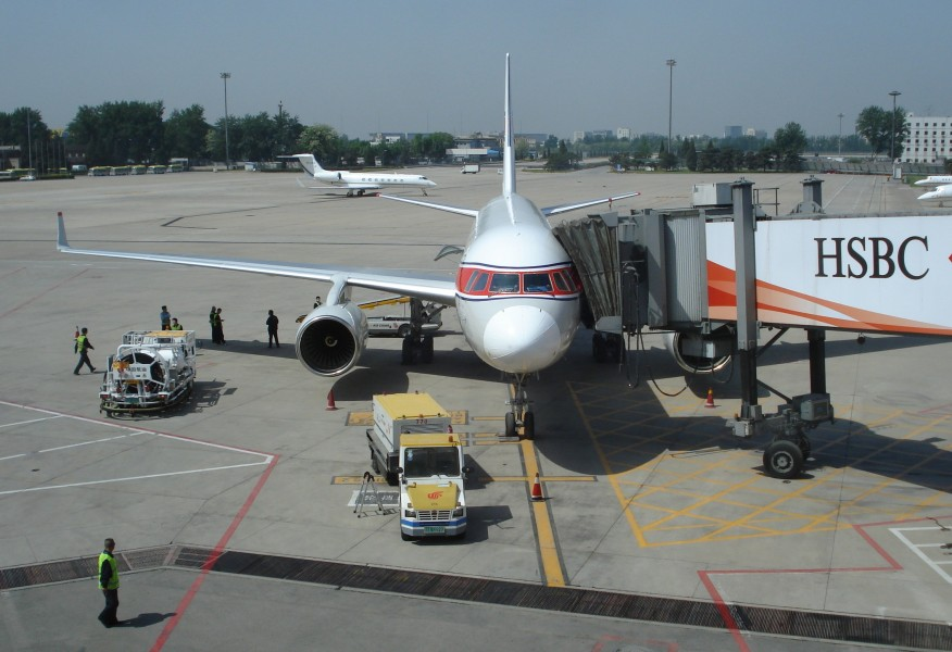 Air Koryo TU 204 in China