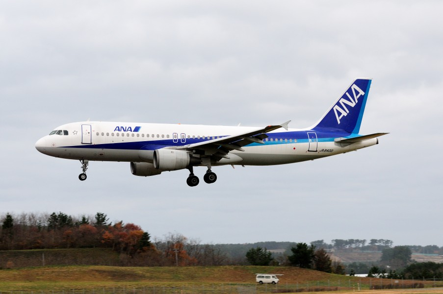 All Nippon Airways Airbus A320-211 (JA8400 554) (5203770344)