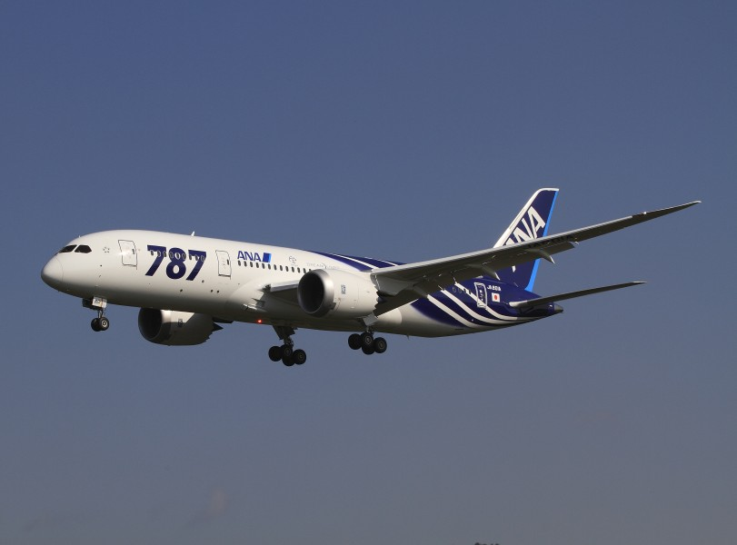 All Nippon Airways Boeing 787-8 Dreamliner JA801A OKJ