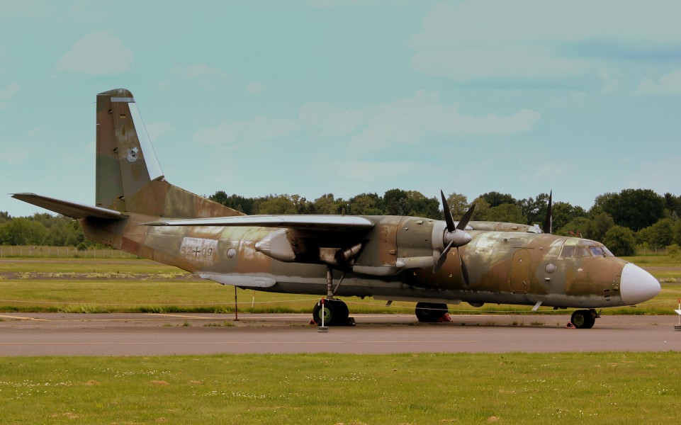 ANTONOV AN26 AT THE LUFTWAFFEN MUSEUM RAF GATOW BERLIN GERMANY JUNE 2013 (9120993942)