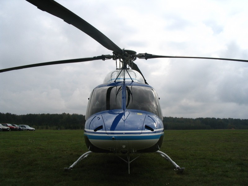 Bell 427 front