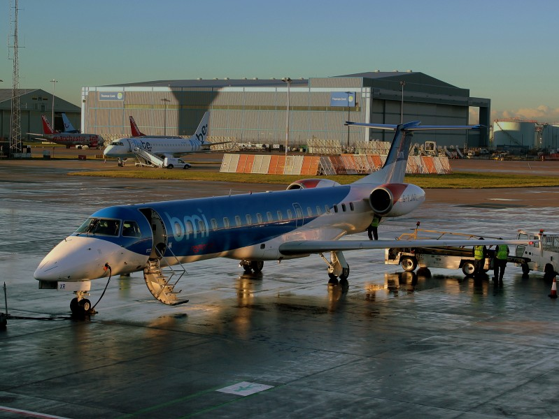 BMI REGIONAL EMB145 GBJXR AT MANCHESTER AIRPORT DEC 2012 (8261529810)