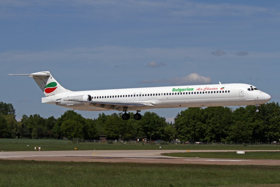 Bulgarian Air Charter take-off