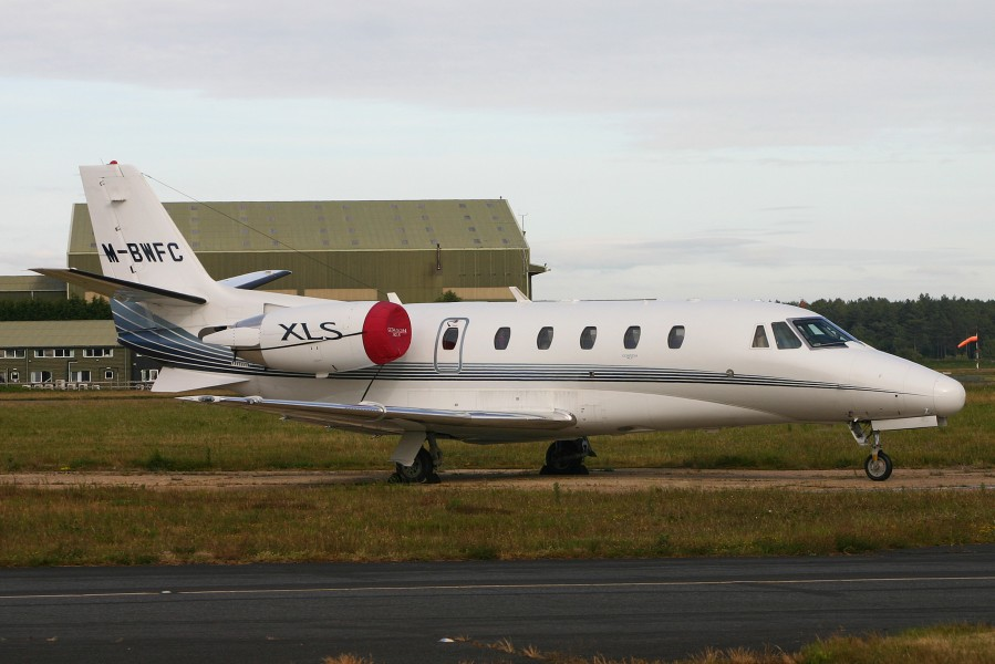 Cessna 560 Citation XLS M-BWFC (6893735835)