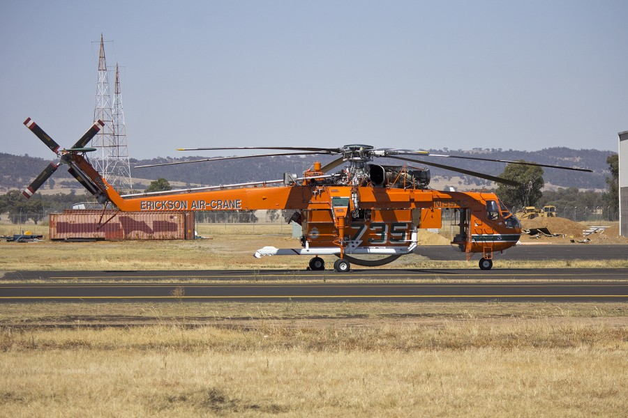 Erickson Air-Crane 'Camille' at Wagga Wagga Airport (5)