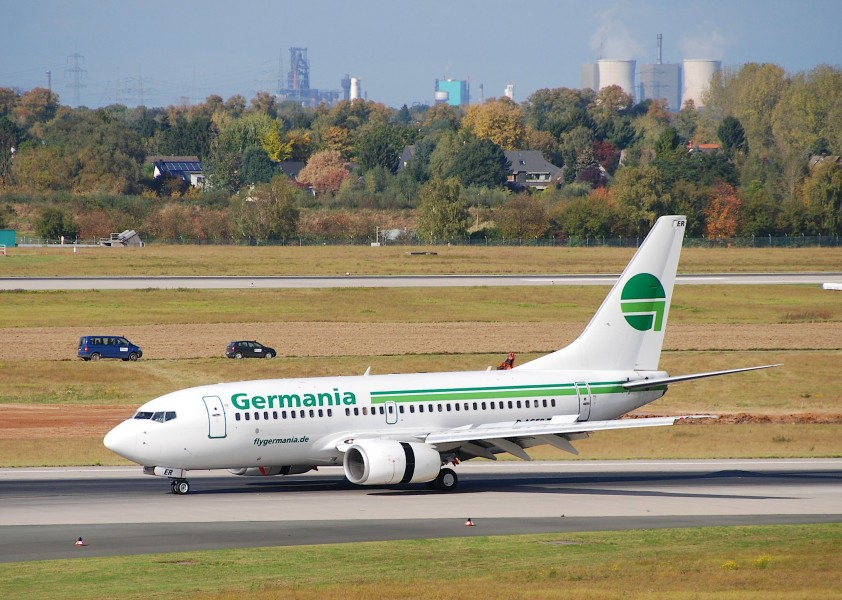 Germania Boeing 737-700, D-AGER@DUS,13.10.2009-558mw - Flickr - Aero Icarus