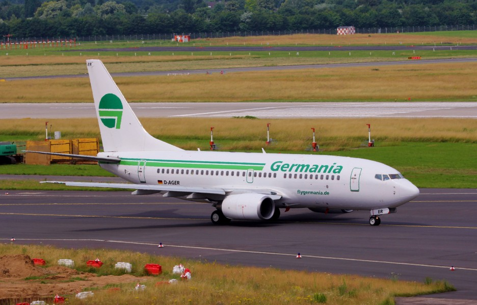 Germania Boeing 737-75B D-AGER (9214200571)