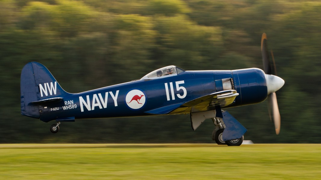 Hawker Sea Fury FB 10 F-AZXJ OTT 2013 10