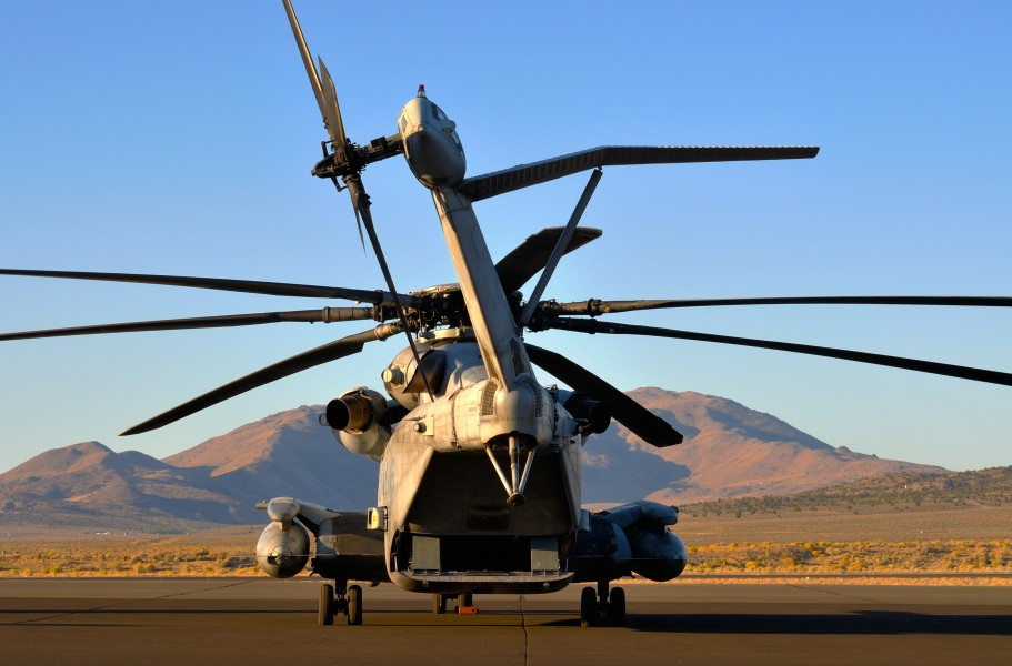 HDR - CH-53E Super Stallion at RAR09