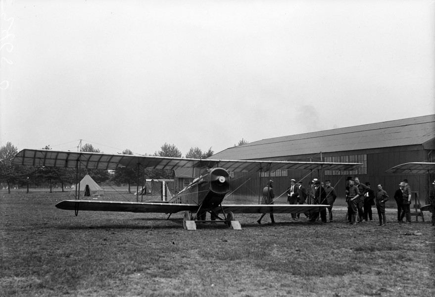 JN-4H US Air Mail inauguration Polo Field 1918