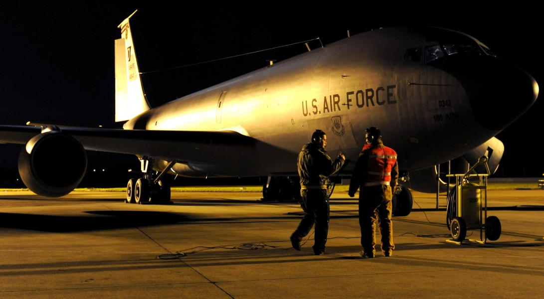 KC-135 prepares for Odyssey Dawn