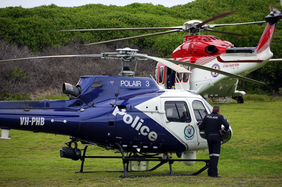 POLAIR pilot watches on - Flickr - Highway Patrol Images