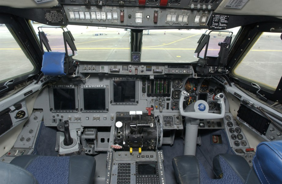 Shuttle Landing Simulator cockpit