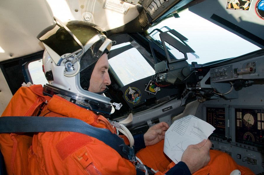 STS-129 Shuttle Training Aircraft