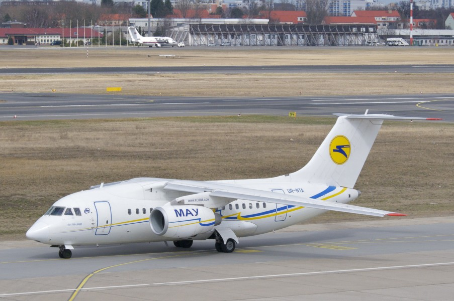 Ukraine International Airlines Antonov 148-100B; UR-NTA@TXL;14.04.2013 704ci (8665949380)