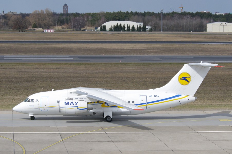 Ukraine International Airlines Antonov 148-100B; UR-NTA@TXL;14.04.2013 704ck (8665973182)