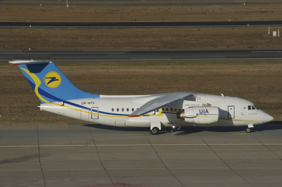 Ukraine International Airlines Antonov An-148-100B; UR-NTC@TXL;30.12.2012 684cr (8332140561)