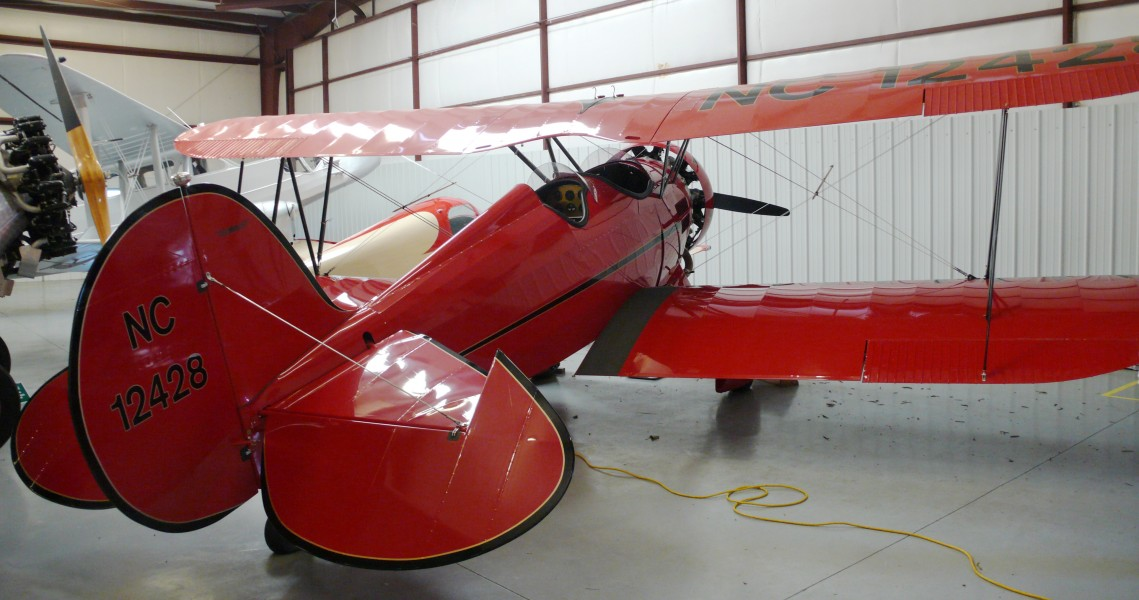 WACO QF2 rear