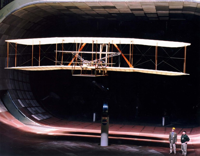 Wright Flyer Wind Tunnel NASA