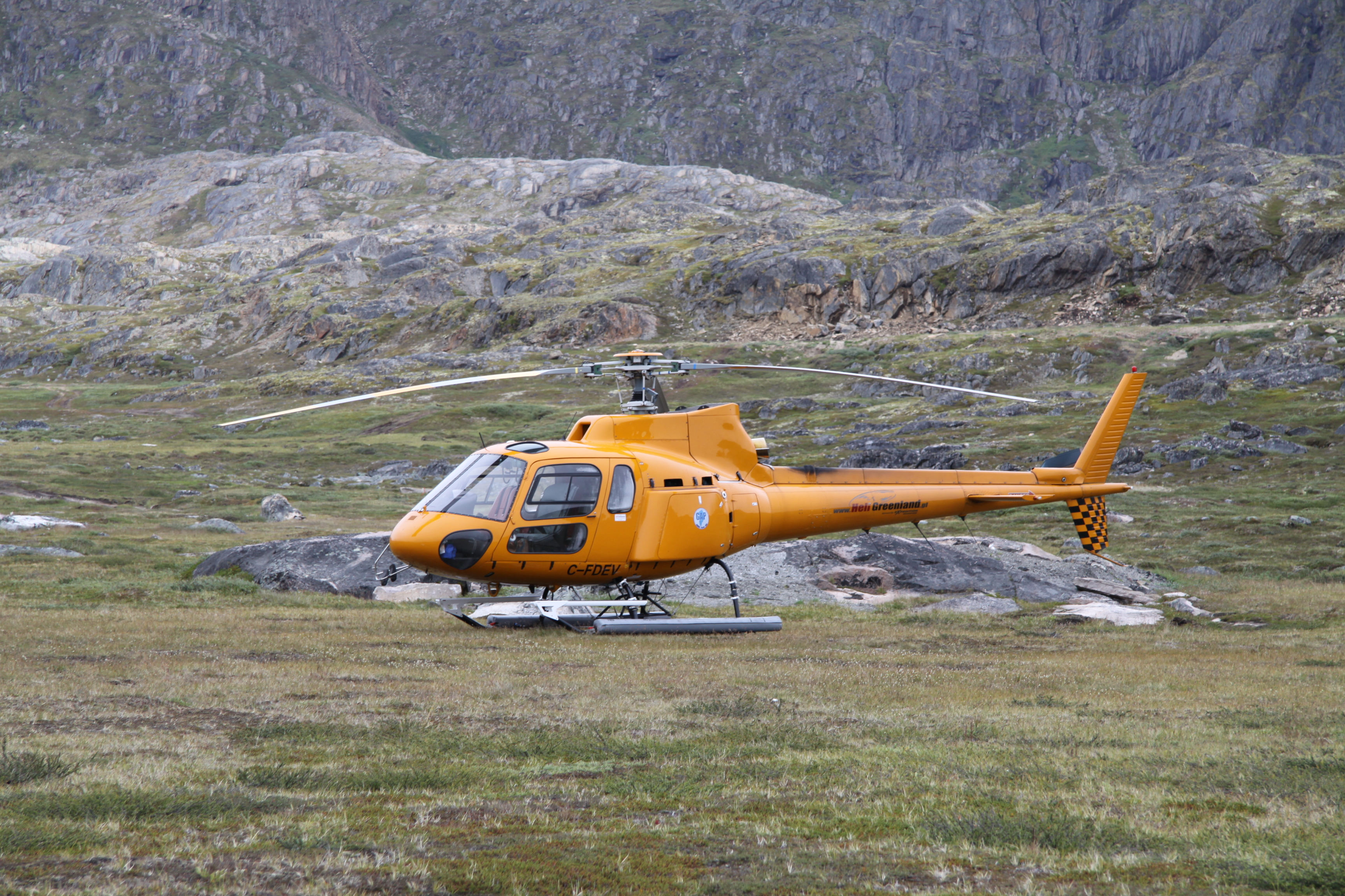 Sisimiut new heliport in summer 2010 (2)