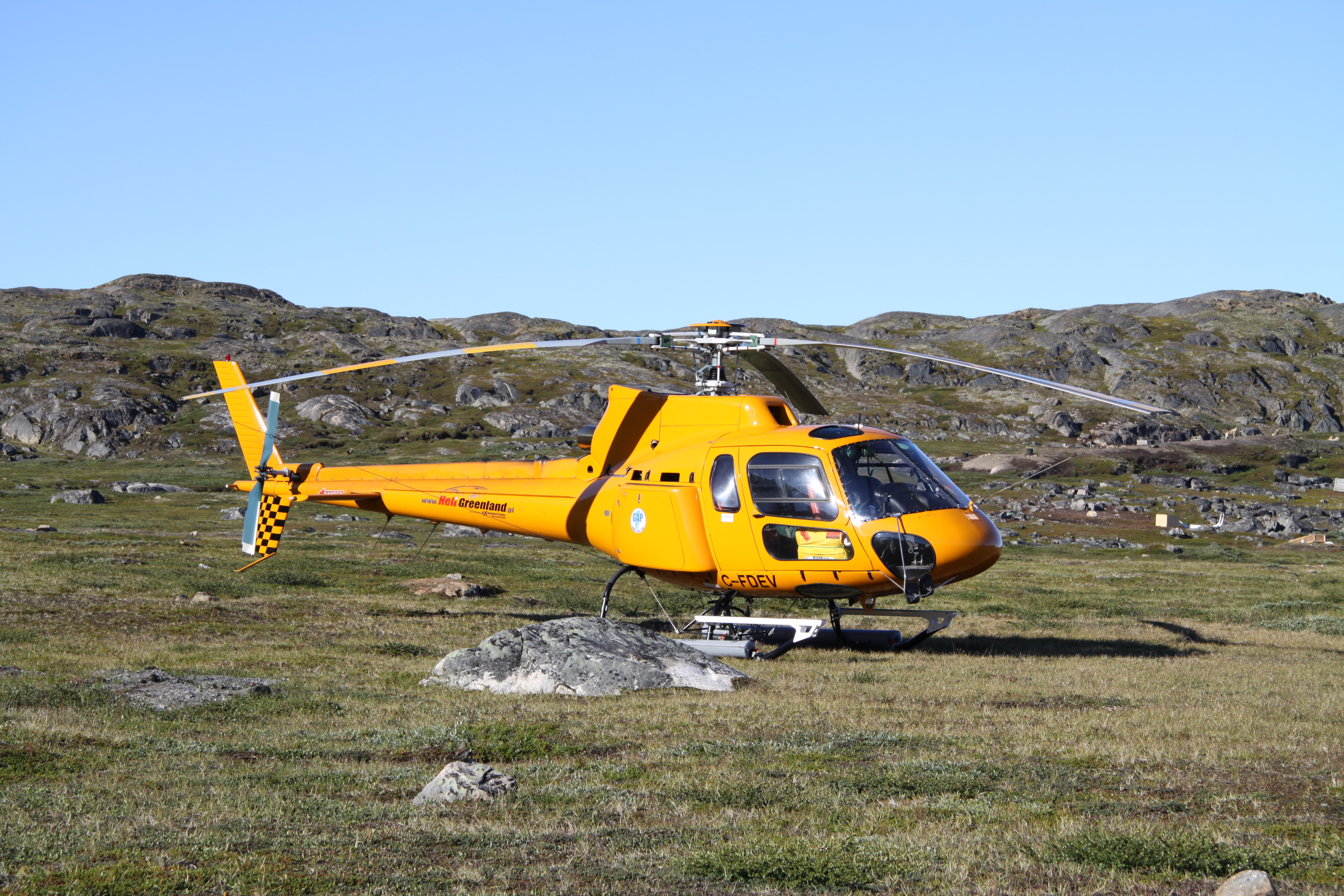 Sisimiut new heliport in summer 2010 (3)