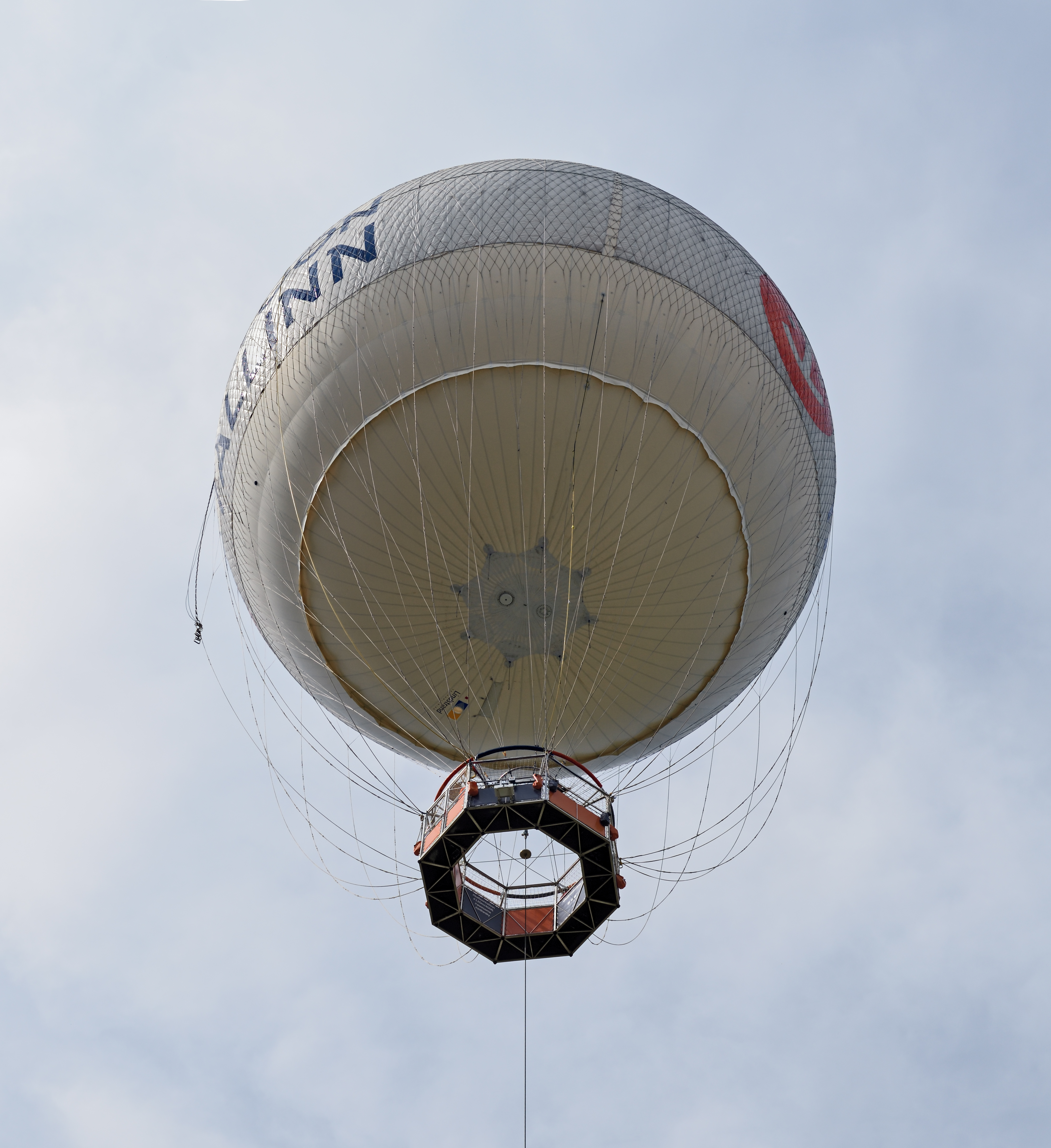 Tallinn Tethered Balloon from below 2015