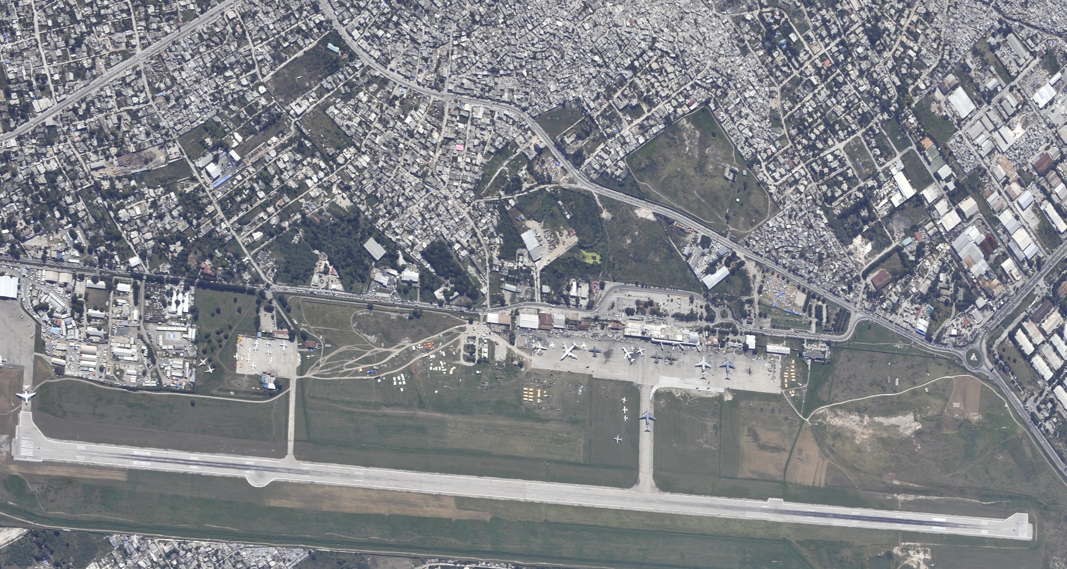 Aerial view of PAP 2010-01-16 2