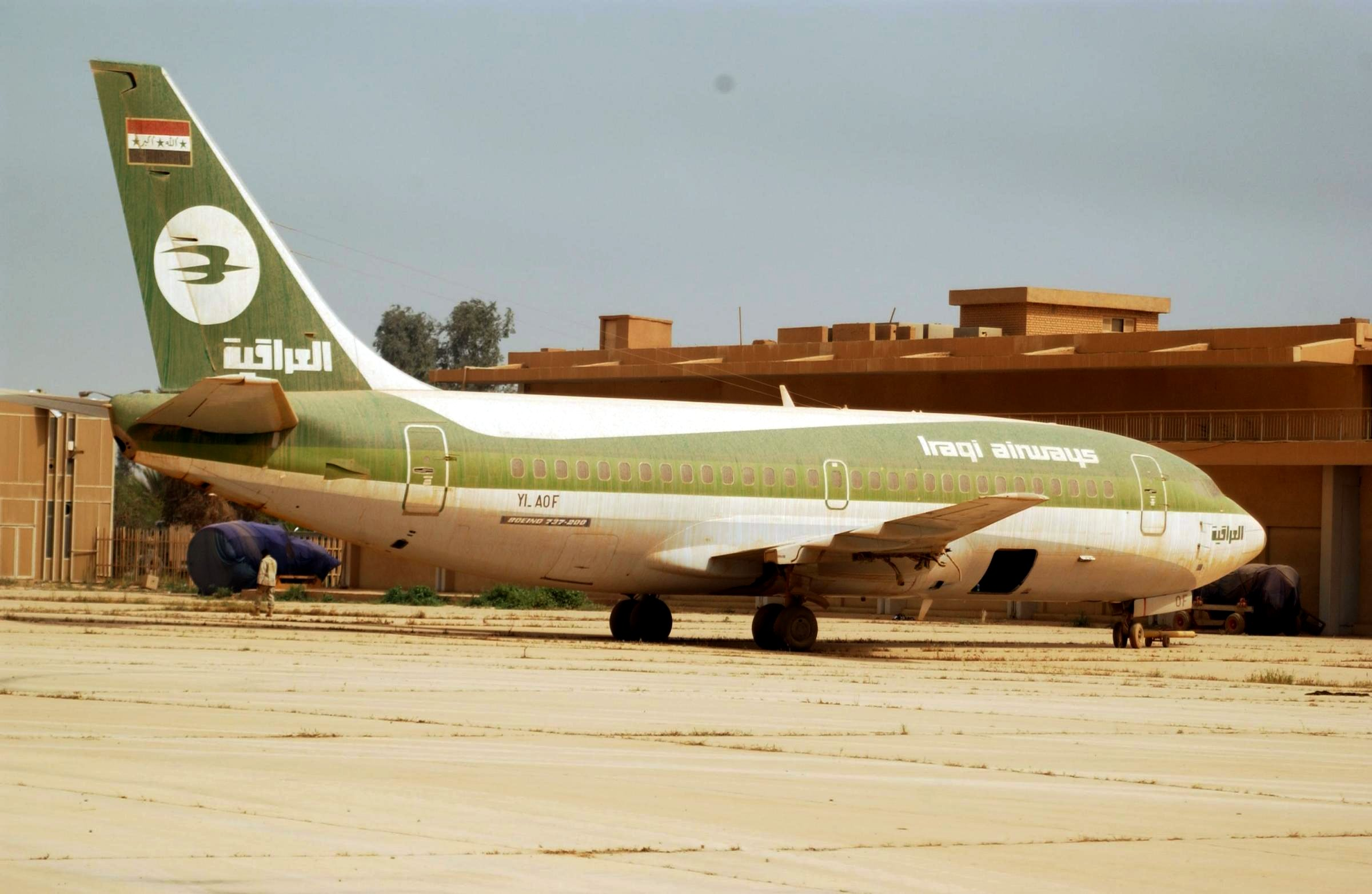 Iraqi Airways Boeing 737-200 2