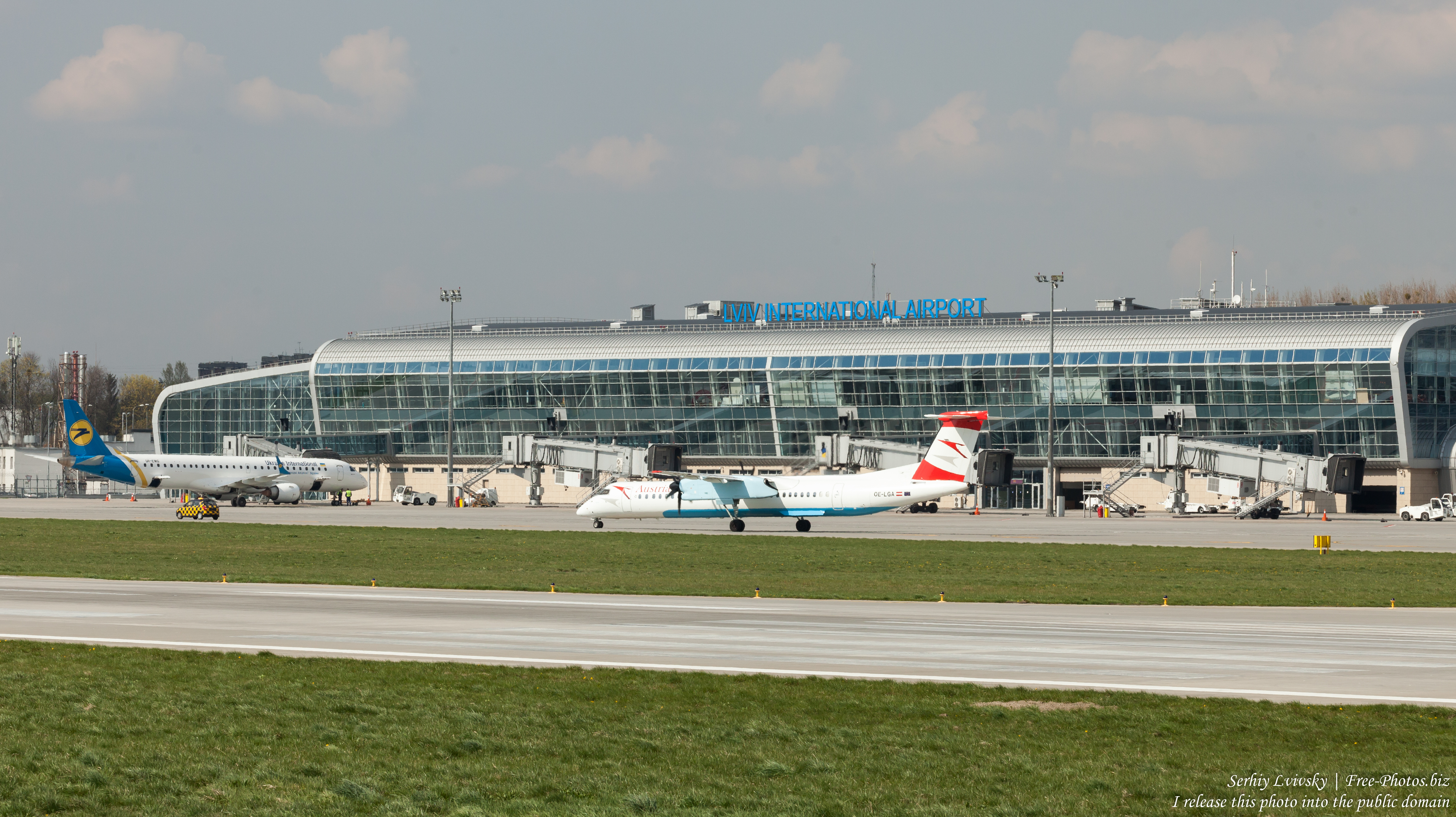 Lviv airport photographed in April 2019 by Serhiy Lvivsky, picture 12