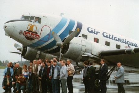 Air Atlantique (G-AMSV), Belfast International, September 1986 (01)